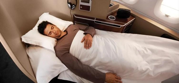 qantas airlways first class