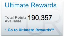 chase ultimate rewards balance