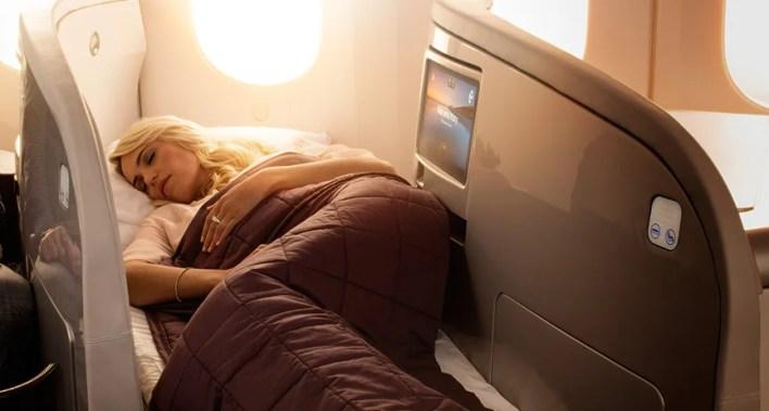 Air New Zealand's business class