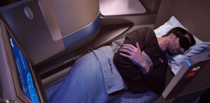 United Airlines Polaris Business Class Flight