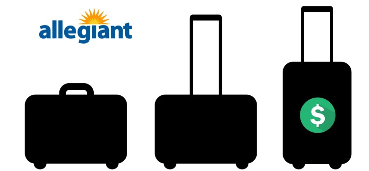 Allegiant baggage fees