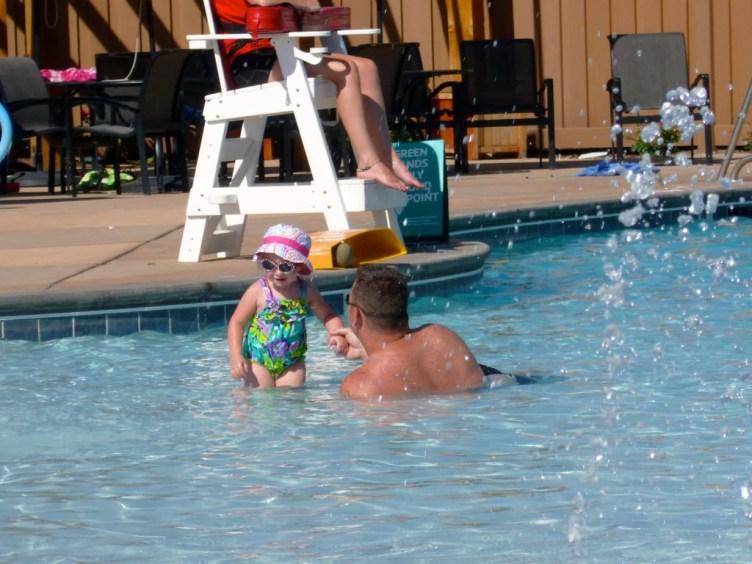 child pool at hotel