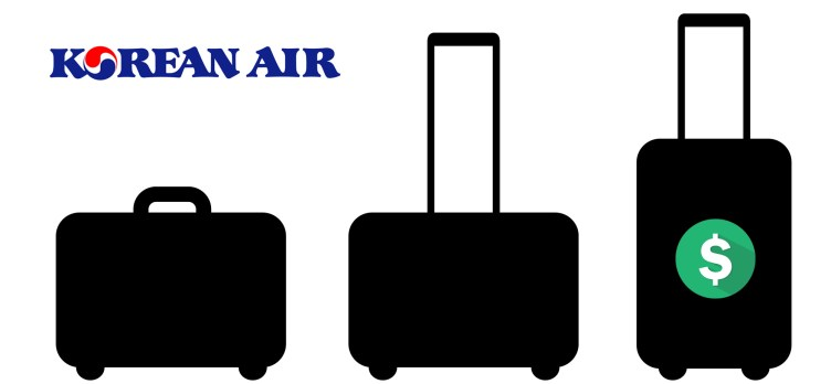 Korean Air baggage fees
