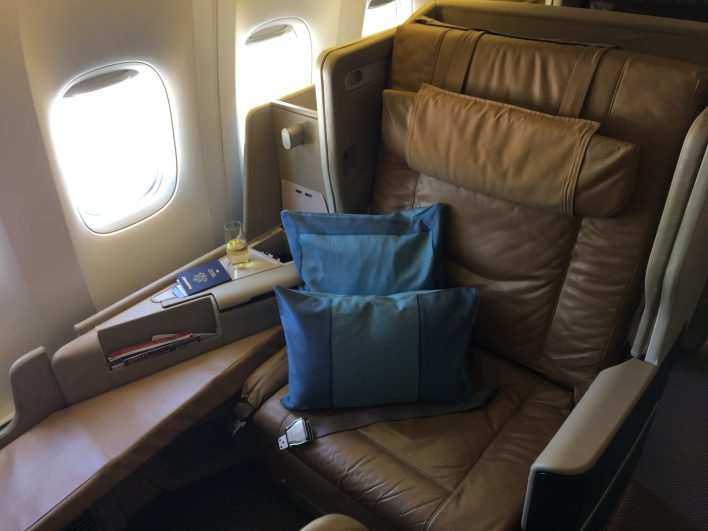 Sinagpore Airlines Business Class