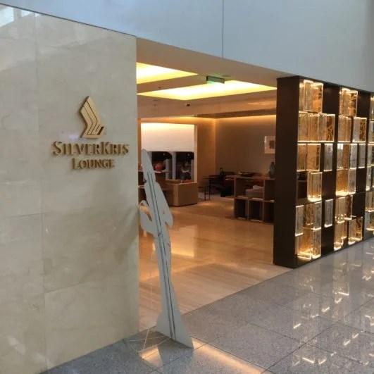 Singapore Airlines SilverKris Lounge