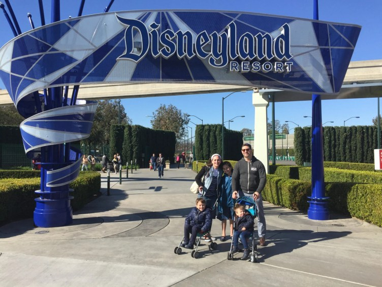 Eli & Family at Disney
