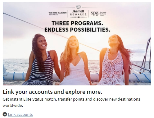 Marriott SPG Account Link