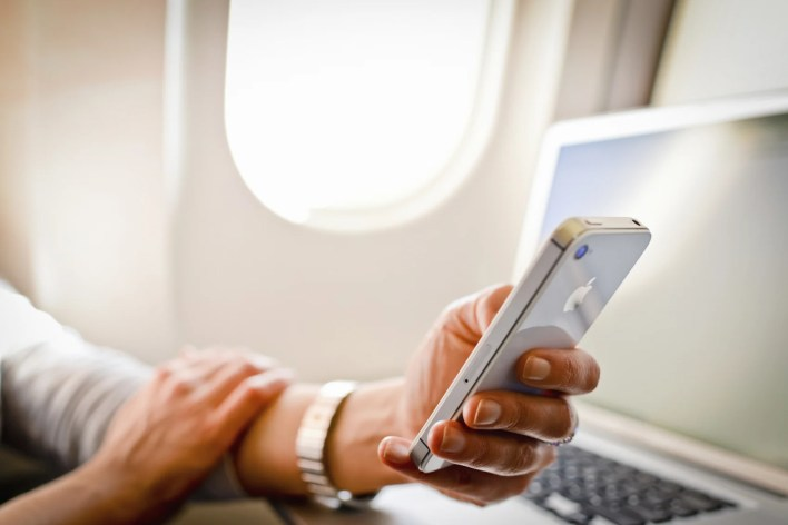Mobile Device Airplane Electronics