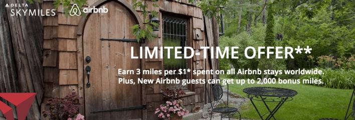 Delta Airbnb Promo Fall 2017