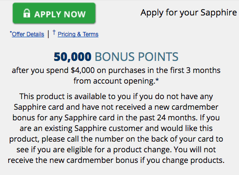 Sapphire Reserve Bonus Terms