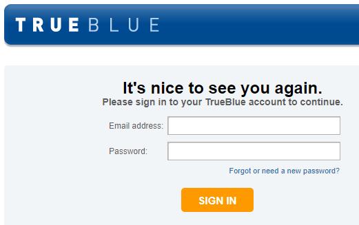 Sign In TrueBlue