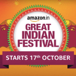 Amazon Great Sale of Indian Festival Begins on 17 October