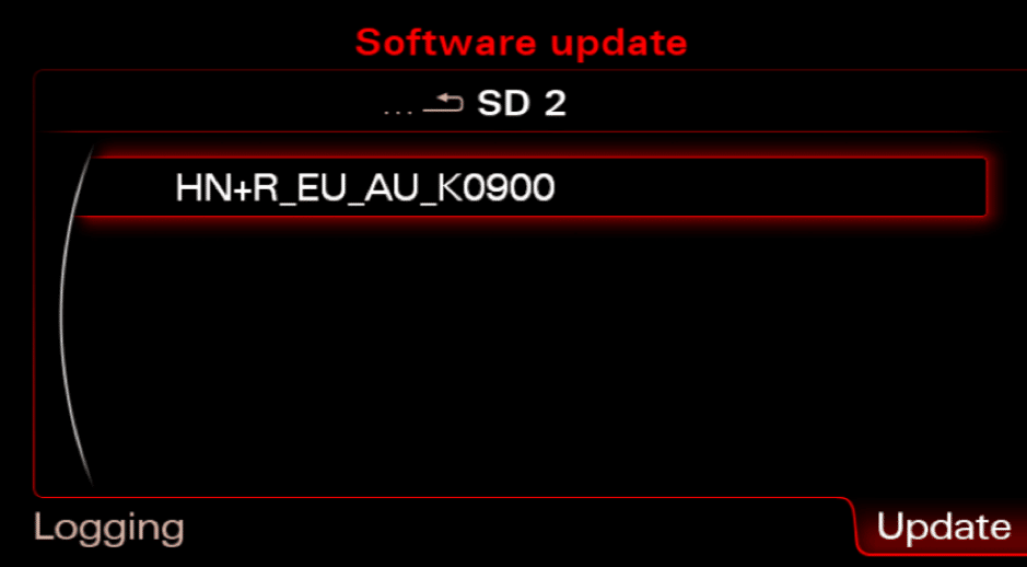 Firmware update in Audi MMI 3G Plus / High / Basic