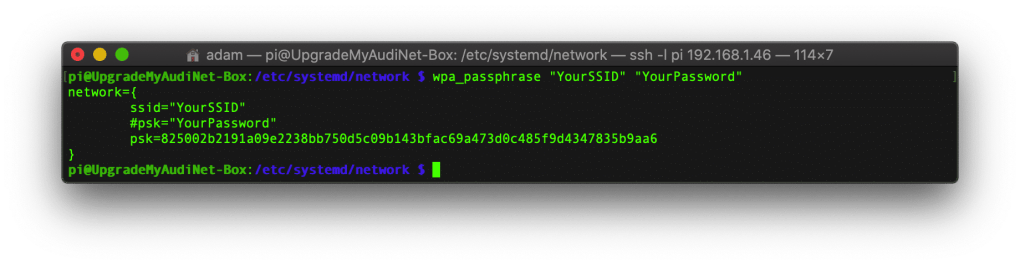 upgrademyaudi.net - audi connect raspberry pi