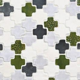 Mercury Mosaics - Moroccan Cross tiles