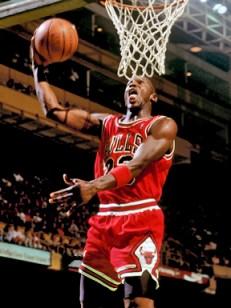 Slam dunking like Mike