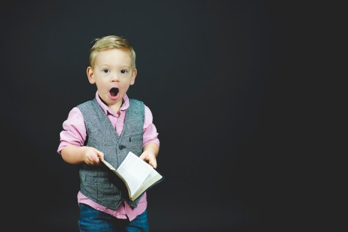 Surprised Kid - Ben White Photo