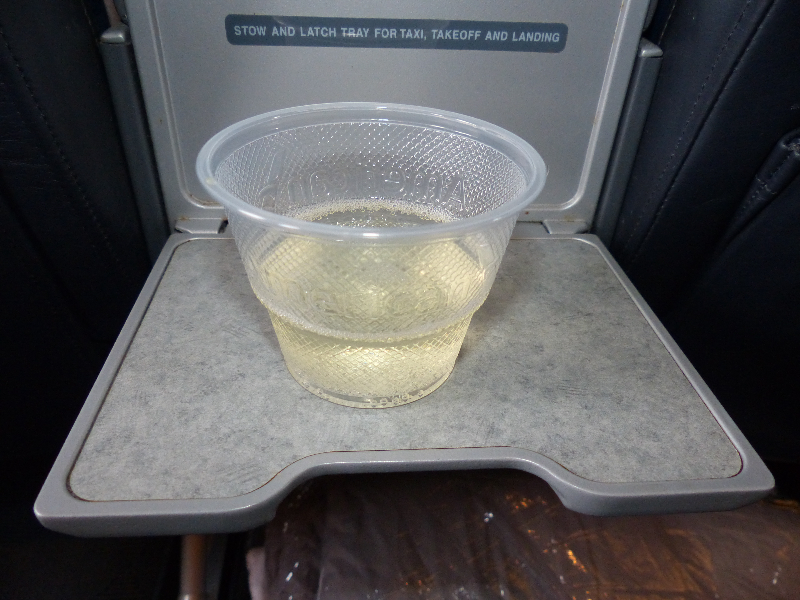 First Class Welcome Prossecco...