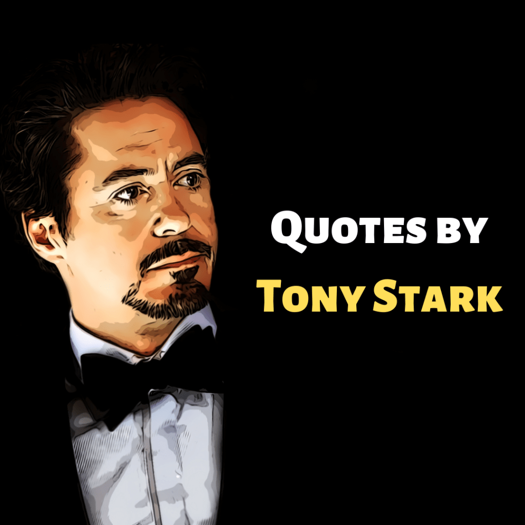 quotes by tony stark