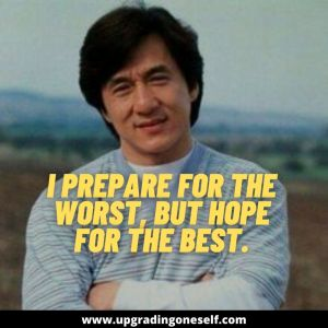 jackie chan words