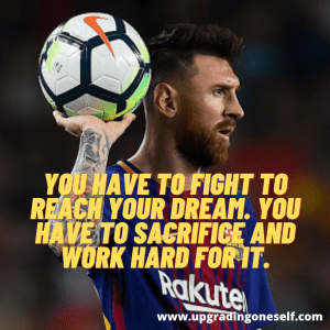 football messi quotes