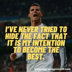 motivation from Ronaldo