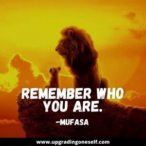 lion king mufasa quotes