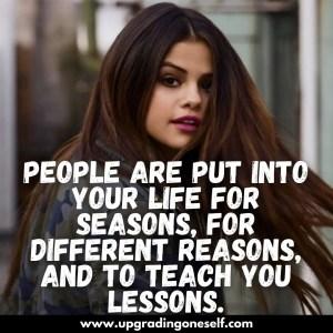 selena gomez quotes on life