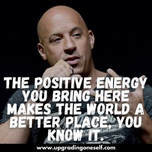vin diesel sayings and thoughts