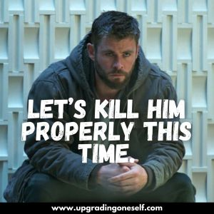 avengers thor quotes