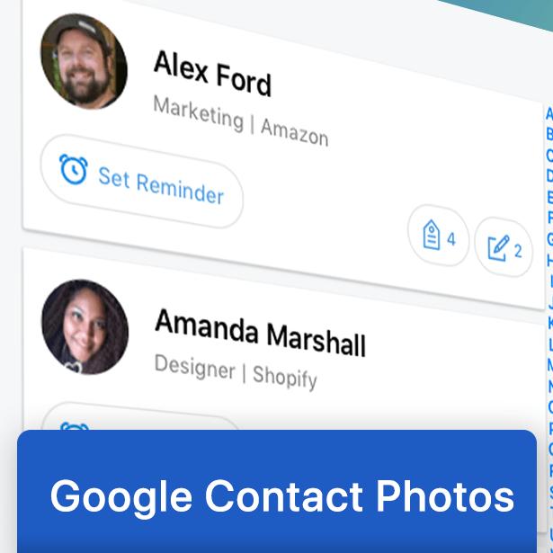 Google Contact photos