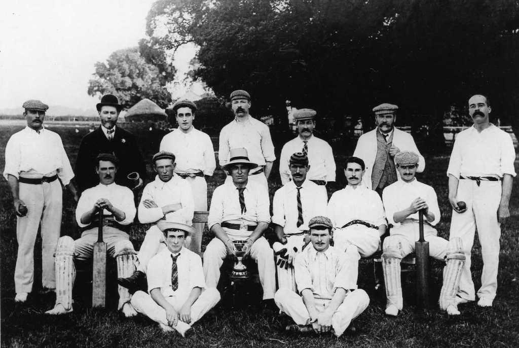 Upham Cricket XI c1904