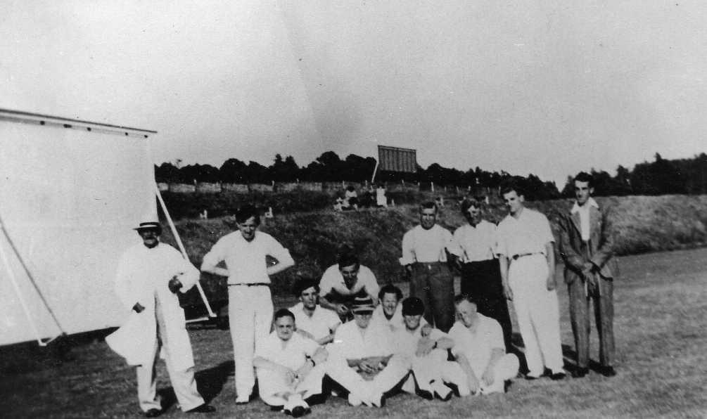 Upham Cricket XI c1950