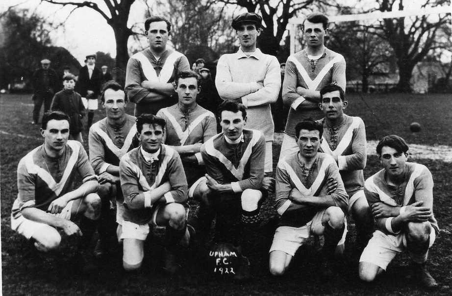 Upham Football Club 1922