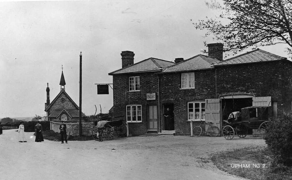 The Woodman Inn in 1906