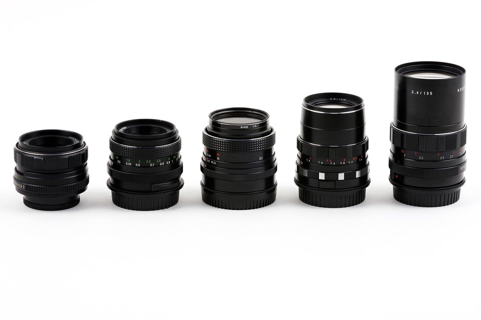 Zoom vs. Prime Lenses