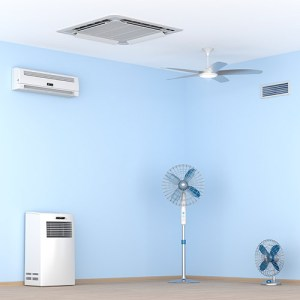 air purifiers and fans