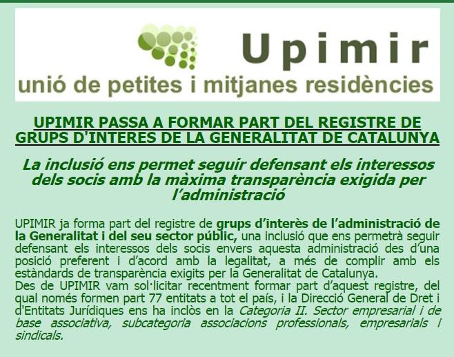 UPIMIR GRUP INTERES