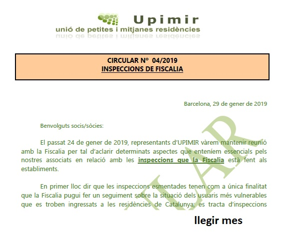 INSPECCIONS DE FISCALIA
