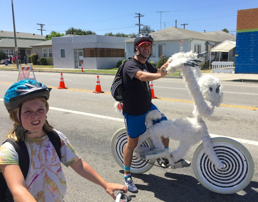 The Yeti Bike, winner of the UpintheValley Most Creative award