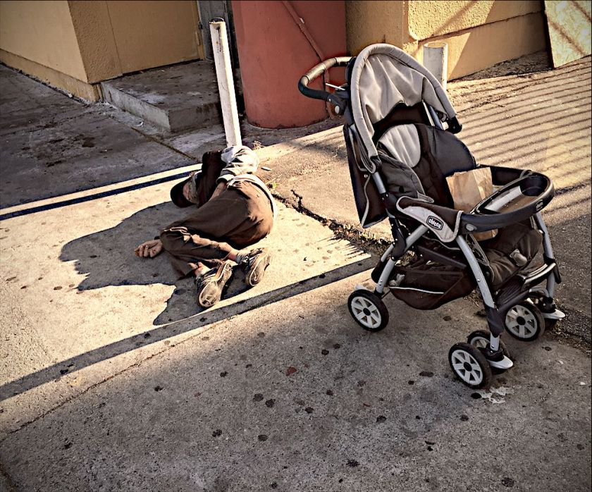 Finally, the Stroller again