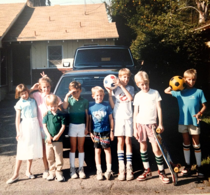 Valley kids, 1980's