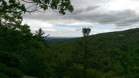 View from the High Peters Kill Trail in Minnewaska State Park