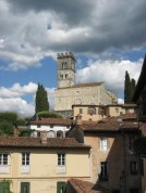 The cathedral in Barga, Tuscany - on holiday 2008