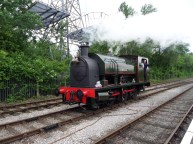Bagnall 2680/1942 'Courageous' under steam