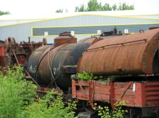 Rusty rolling stock