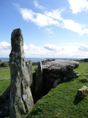 Portal and chamber at Cairn Holy II