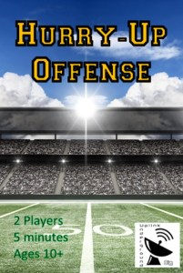 Hurry-Up Offense box front