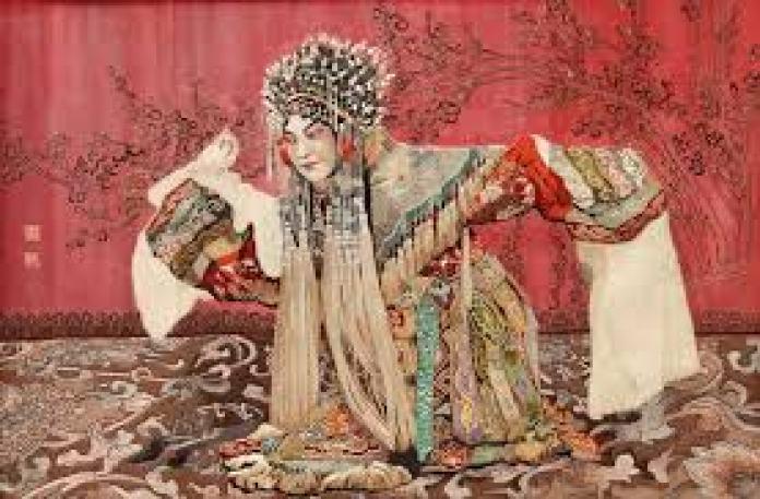 """南通仿真绣又称""""沉绣"""",是苏绣的重要分支(江苏旅游官网)"""