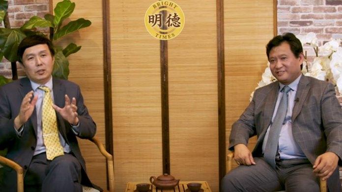 江峰李军一起畅谈: 中共逆淘汰(视频截图)